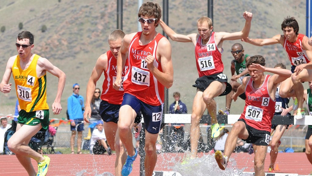 Track Field Harvey And Erickson Earn All Rmac In Steeplechase