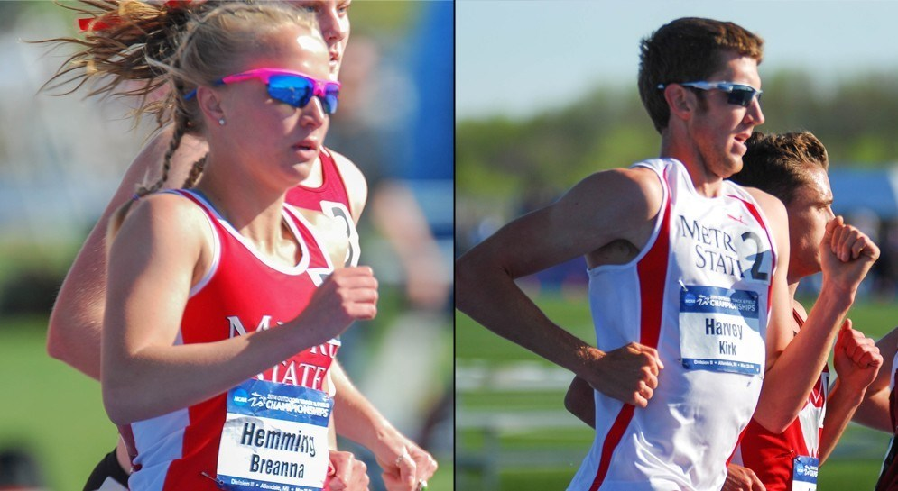 Cross Country Track Harvey And Hemming Named First Team Academic